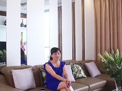 Chị Khuê - Chủ căn hộ tại Thăng Long Number 1, Hà Nội