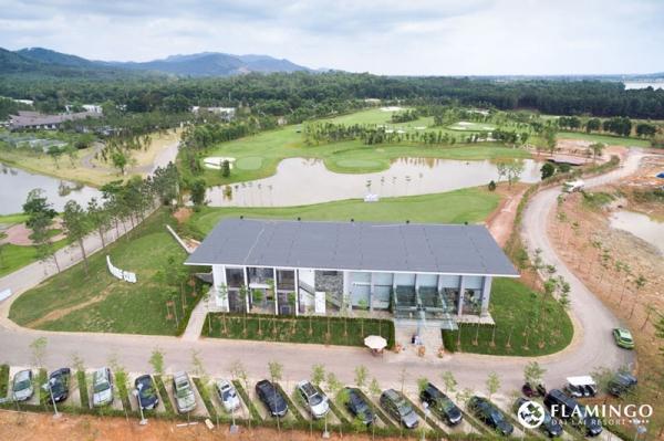 Nhà điều hành sân Golf - Flamingo Đại Lải resort