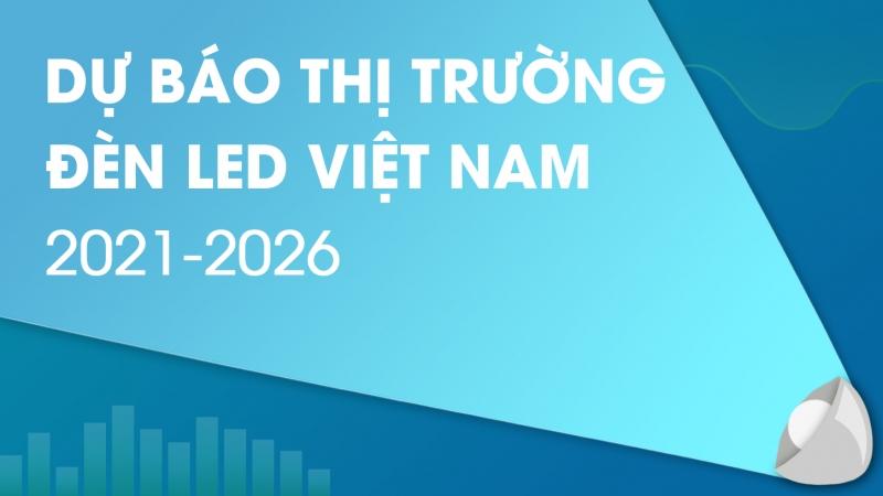 Thị Trường Đèn LED Tại Việt Nam Dự Kiến Cán Mốc 1 Tỷ USD Vào Năm 2026