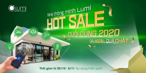 Hot Sale 2020: Lắp nhà thông minh Lumi - Giá ngon - quà chất