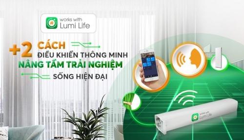 Tích hợp rèm thông minh Works With Lumi Life, nhà thông minh Lumi khẳng định năng lực IOT tại Việt Nam