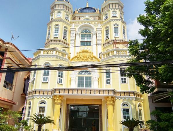 Tòa lâu đài nhà anh Thế - Bắc Giang